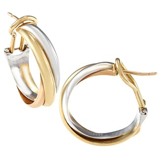Cartier 18-karat Gold Trinity Earrings