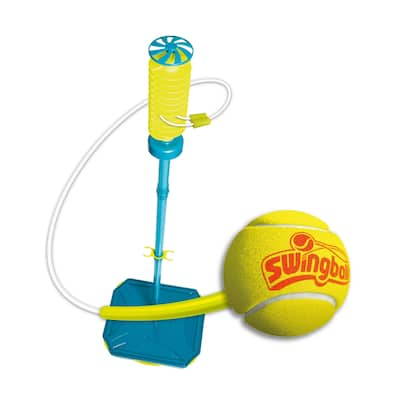 Swingball All Surface Pro Tether Ball Set - Blue/Yellow - 19.5in L x 16.3 W x 72in H