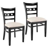 Mini Diamond Dining Chairs (Set of 2)