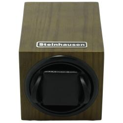 Steinhausen 12-mode Single Olive Wood Grain Watch Winder - Thumbnail 1