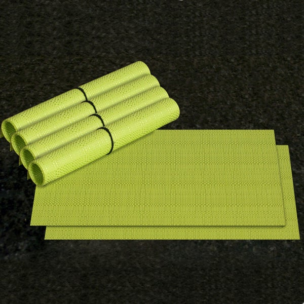 1530 LaMont Home Brights Lime Placemat (Set of 6)