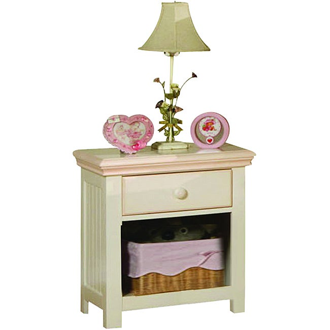 Crowley Nightstand with Basket