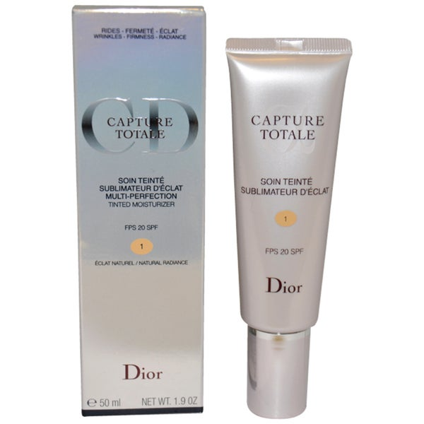 Dior Capture Totale Multi Perfection 1 Natural Radiance Tinted Moisturizer