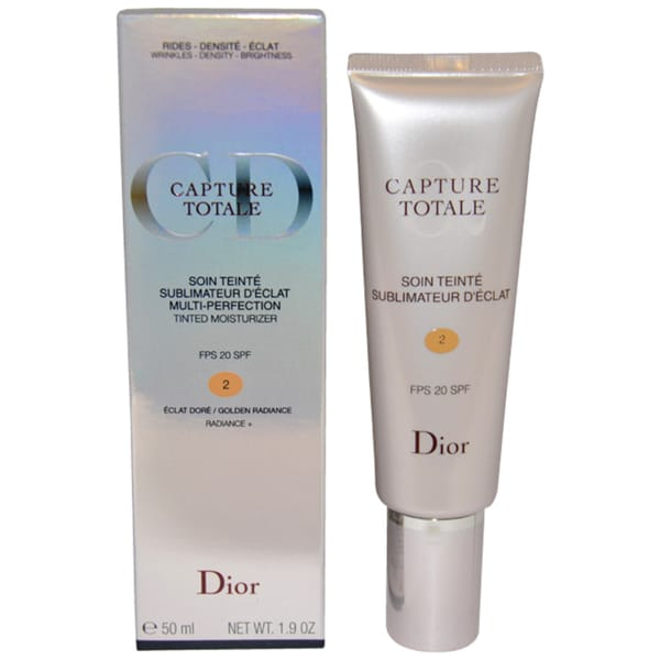 Dior Capture Totale Multi-Perfection 2 Golden Radiance Tinted Moisturizer