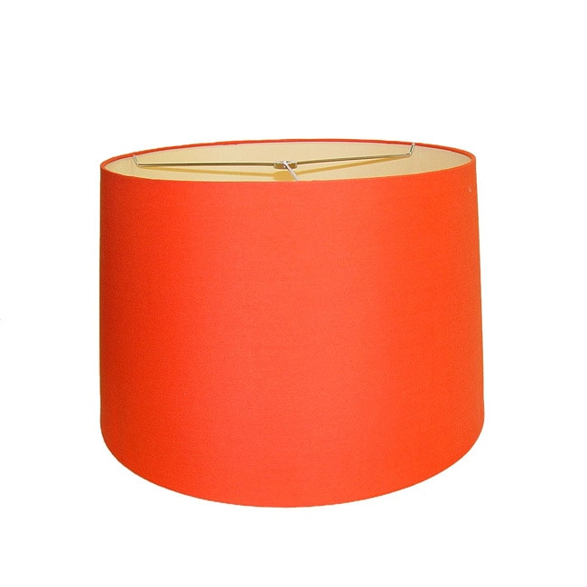 Orange Round Hardback Lamp Shade Free Shipping Today 6808216