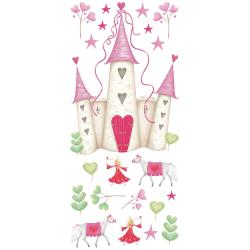 RoomMates Princess Castle Peel and Stick Wall Decal - Thumbnail 1
