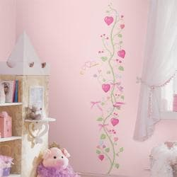 RoomMates Fairy Princess Peel and Stick Growth Chart