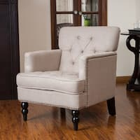 Malone Beige Club Chair
