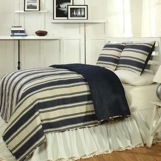 Canon Blue 3-piece Quilt Set
