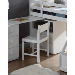 White Finish Wyatt Chair