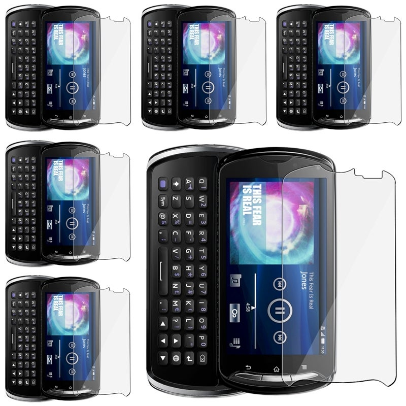 Screen Protector Set for Sony Ericsson Xperia Pro (Set of 6)