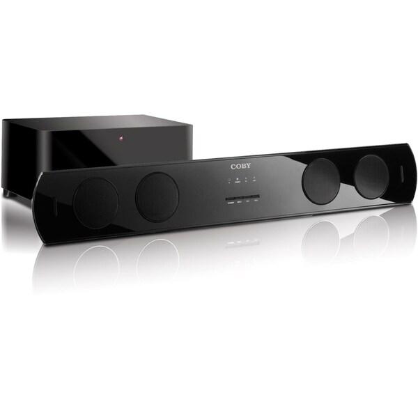 Coby CSMP95 2.1 Speaker System - 80 W RMS - Wireless Speaker(s) - Glo