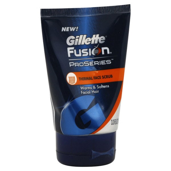 Gillette Fusion ProSeries Thermal Face Scrub (Pack of 3)