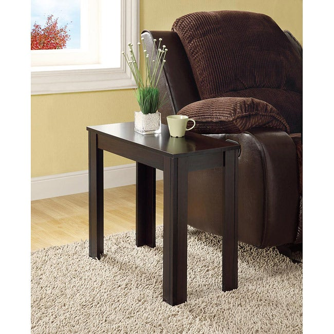Cappuccino Accent Side Table