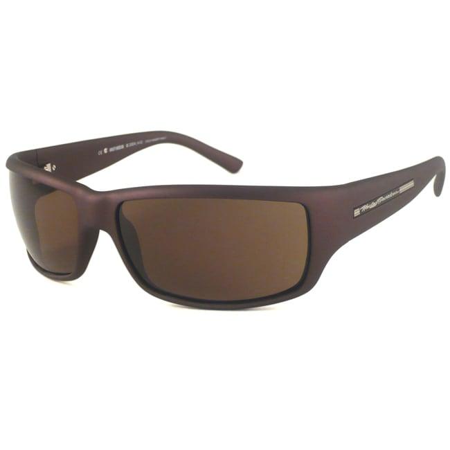 Harley Davidson Men's HDX810 Wrap Sunglasses