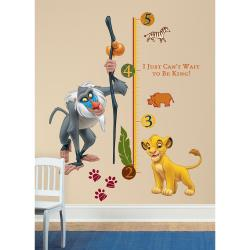 RoomMates The Lion King Rafiki Peel and Stick Giant Growth Chart