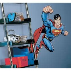 RoomMates Superman-Day of Doom Peel and Stick Giant Wall Decal