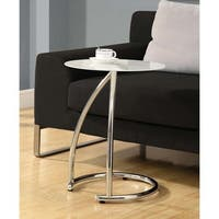 Clay Alder Home Pacific Chrome Metal Accent Table