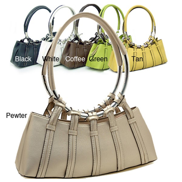 Dasein Ring Handled Shoulder Bag