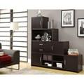 Cappuccino Step Design Bookcase