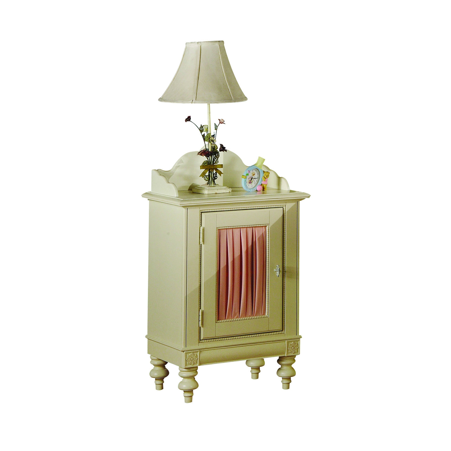 Doll House Cream Finish Nightstand - Free Shipping Today - Overstock.com - 14344680