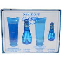 Davidoff Cool Water Women's 4-piece Gift Set
