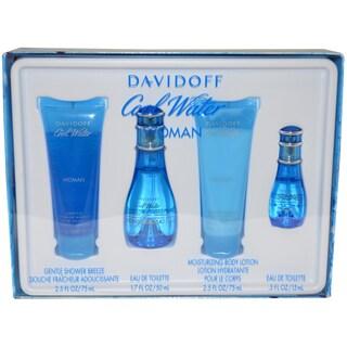 Davidoff Cool Water Women's 4-piece Gift Set
