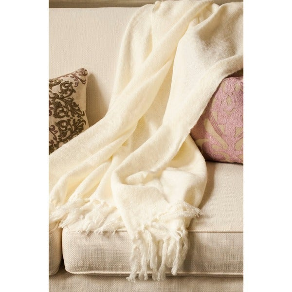 Shop Liz Acrylic Mohair Throw Free Shipping On Orders Over 45
