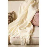 Liz Acrylic Mohair Throw