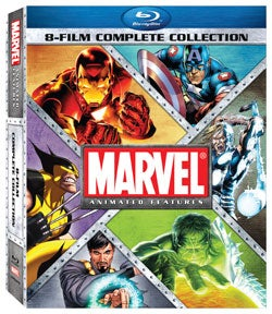 Marvel Animated Features 8-Film Complete Collection (Blu-ray Disc)