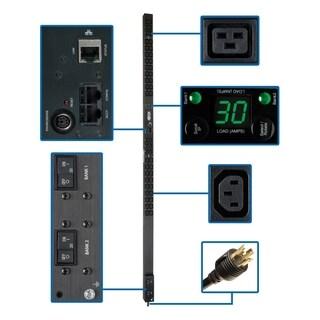 Tripp Lite PDU Monitored 208V / 240V 30A 36 C13; 6 C19 Outlet Vertica