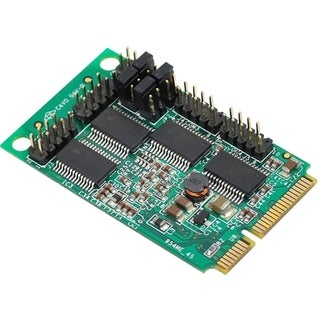 SIIG 4-Port RS232 Serial Mini PCIe with Power