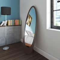 Shop Contemporary Oval Cheval Mirror Free Shipping Today