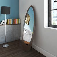 Porch & Den Lochwood Sunland Cappuccino Oval Mirror