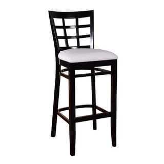 Lattice Beech Wood Barstool