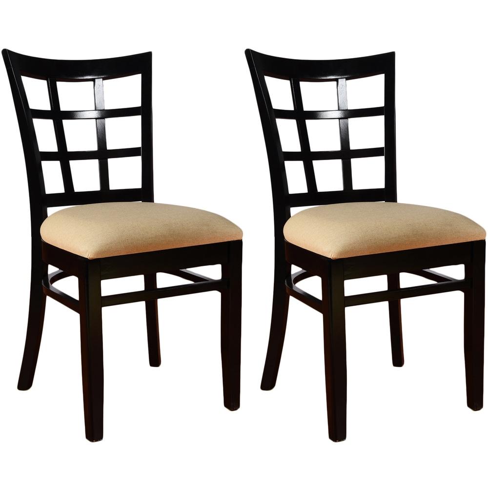 Lattice Dining Chairs (Set of 3)