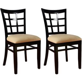 Lattice Dining Chairs (Set of 2)
