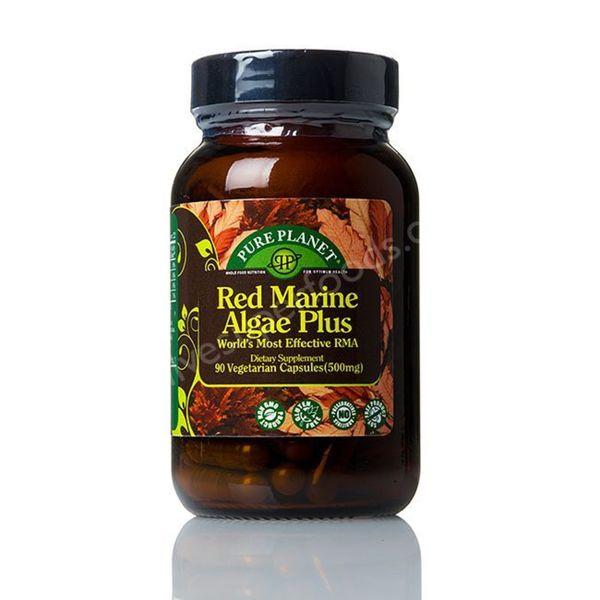 Pure Planet Red Marine Algae Plus 500mg Capsules (90-count)