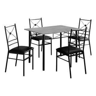 cappuccino marble bronze metal 3 piece bistro set - Kitchen Bistro Set