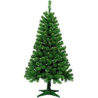 5' Pre-Lit Artificial Christmas Tree