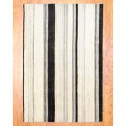 Herat Oriental Indo Hand-knotted Tibetan Wool Rug (4'1 x 6')