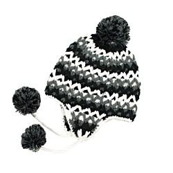 Hand-crochet Leisureland ZigZag Beanie Hat