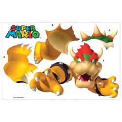 RoomMates Nintendo Bowser Peel and Stick Giant Wall Decal - Thumbnail 1
