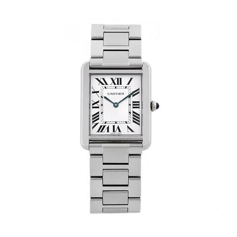 Cartier Men's Tank Solo Stainless Steel Watch