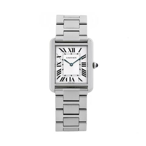 Cartier Men's Tank Solo Stainless Steel Watch