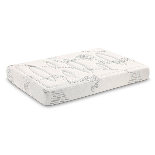 Tobia Tubes 7-zone 10-inch Queen-size Foam Mattress