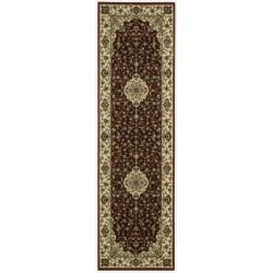 "Nourison Persian Arts Burgundy Runner Rug (2'3"" x 8')"