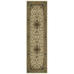"Nourison Persian Arts Ivory Runner Rug (2'3"" x 8')"