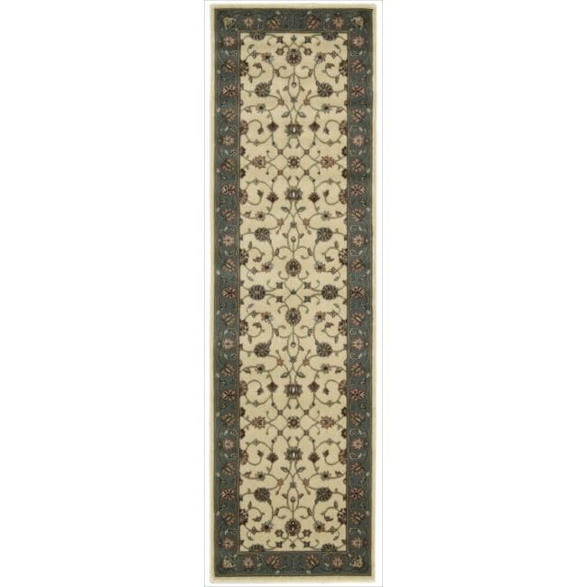 """Nourison Persian Arts Traditional Ivory Rug (2'3"""" x 8')"""