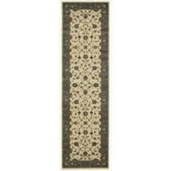 "Nourison Persian Arts Traditional Ivory Rug (2'3"" x 8') - Thumbnail 0"